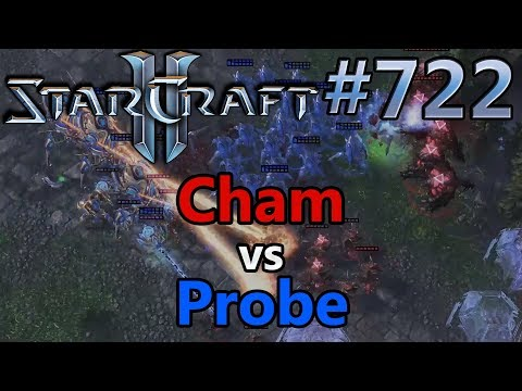 Cham (Z) vs Probe (P) | Starcraft 2: Replay-Cast #722 [Deutsch]