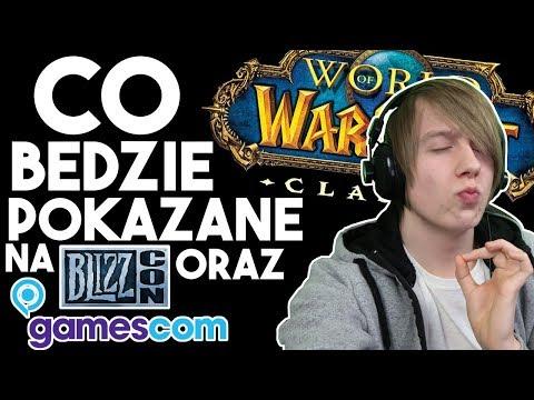 Co Zapowiedzą na Gamescom oraz Blizzcon 2018 z World of Warcraft?
