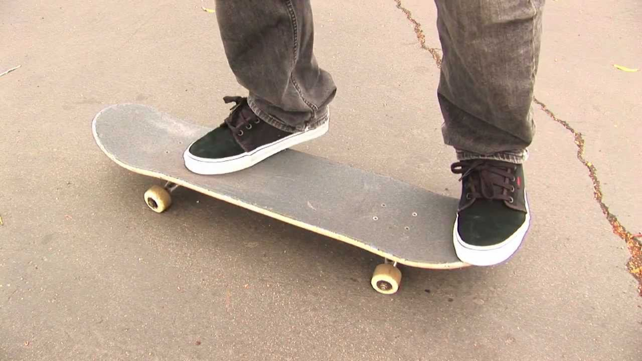 HOW TO KICKFLIP THE EASIEST WAY TUTORIAL Braille Skateboarding