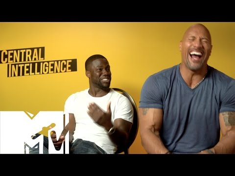 Thumbnail: Kevin Hart & Dwayne Johnson FUNNIEST Moments & Bloopers - Central Intelligence! | MTV