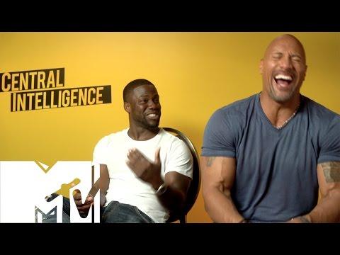 Kevin Hart & Dwayne Johnson FUNNIEST Moments & Bloopers - Central Intelligence! | MTV