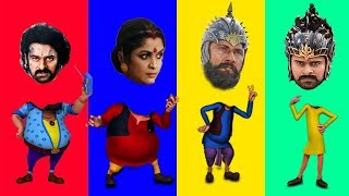 vuclip Wrong Heads Funny Baahubali with Motu Patlu Chingam John The Don Finger Family Song