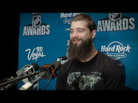 2016 NHL Awards - Media Day with Brent Burns