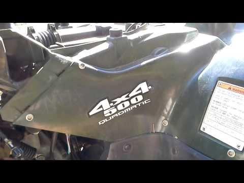 Suzuki LTA500 Rectifier Not Charging/Over Charging