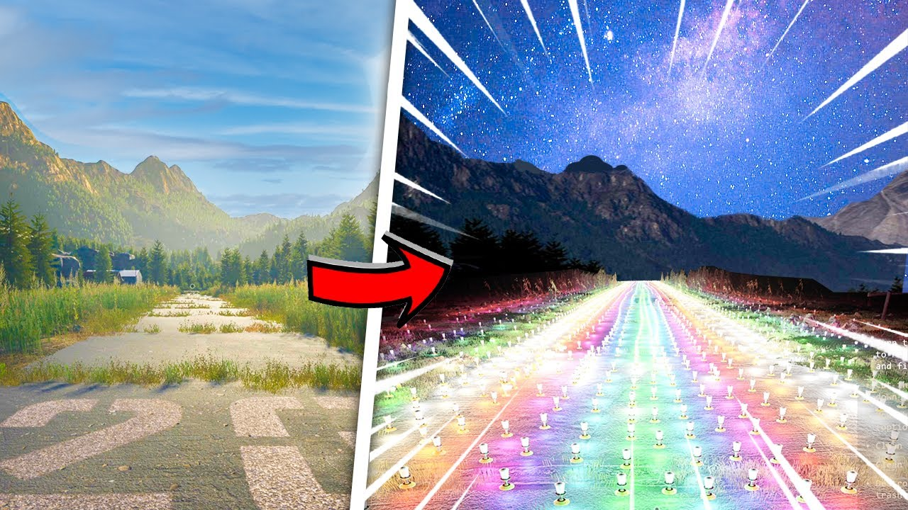 I spent $302,764 ON FAIRY LIGHTS for my runway in Airport Renovator!