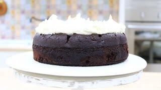 Бисквитный Шоколадный Торт на Пиве / Dark Chocolate Guinness Cake
