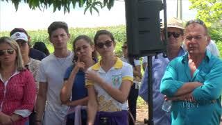 Augusto Kenn aluno do IFCE no Dia de Campo Betânia