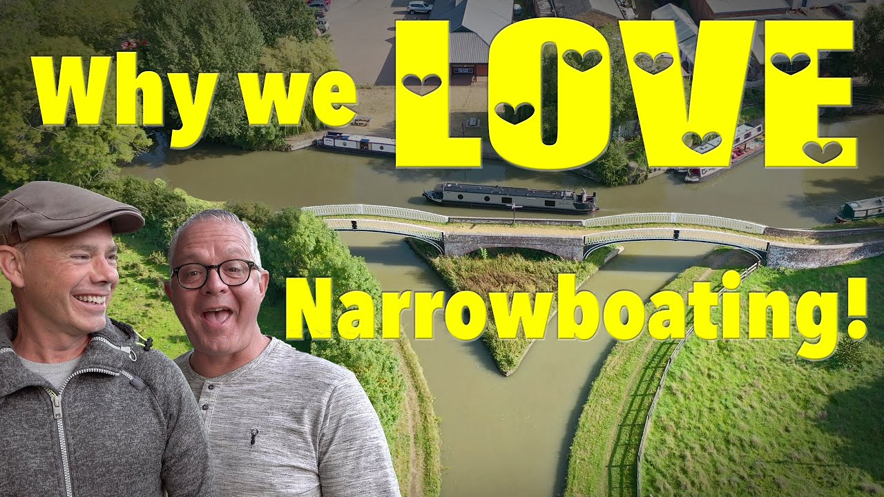 Why we LOVE Narrowboating! Canal Boat to Braunston!
