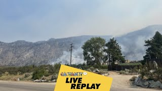 Live replay: Nk'Mip Creek wildfire Thursday