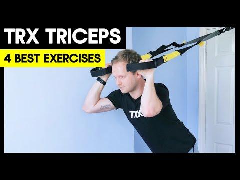 4 BEST TRX Triceps Exercises