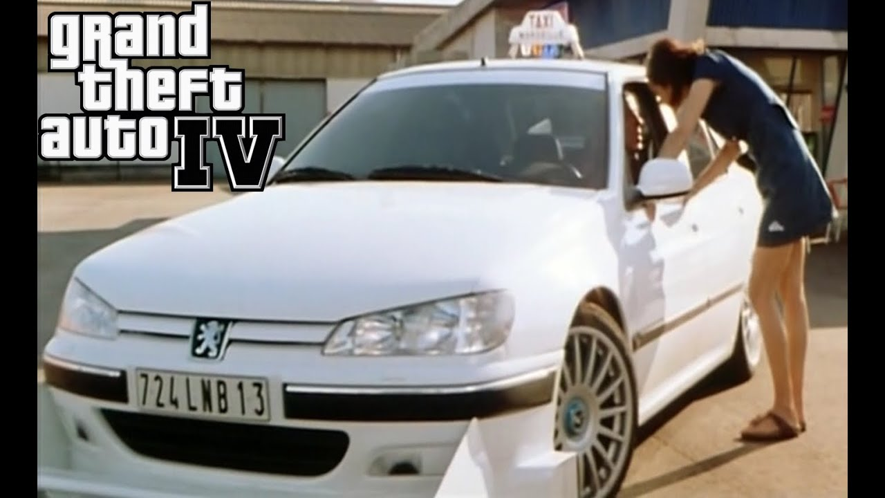 gta 4 peugeot 406 taxi 2 movie car sounds script missions youtube. Black Bedroom Furniture Sets. Home Design Ideas