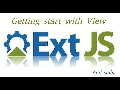 Sencha Ext Js Tutorial #4 View Basic
