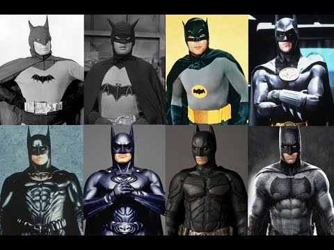 Batman Actors: 1943, 1949, 1966, 1989, 1995, 1997, 2005, 2016