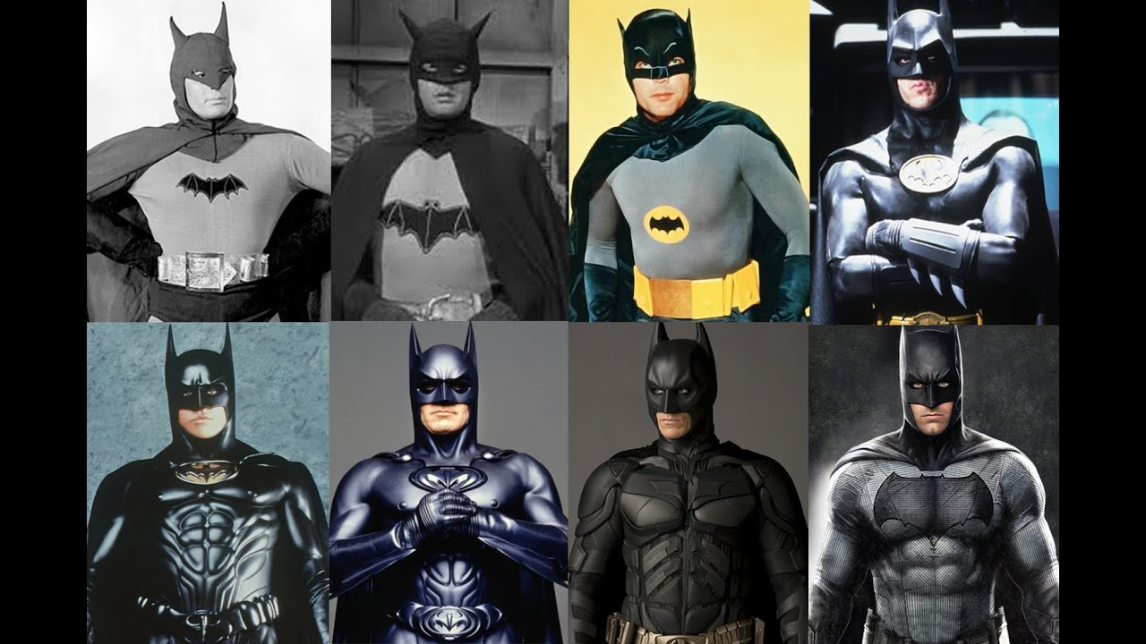 Ranking the Batman movie suits from worst to best