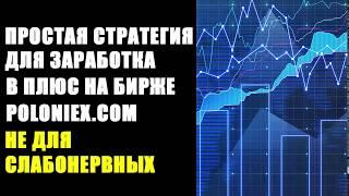 Простая стратегия для заработка в плюс на бирже poloniex. Не для слабонервных