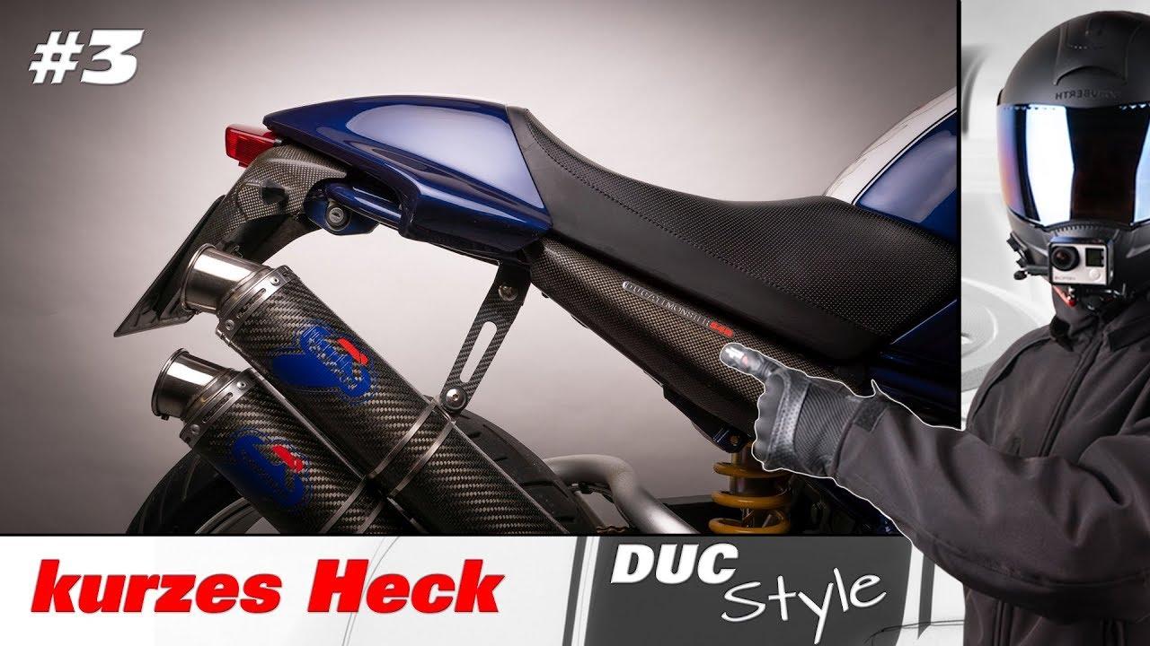 Ducati Monster S4R gekürztes Heck Rahmen kürzen Fehler vermeiden ...