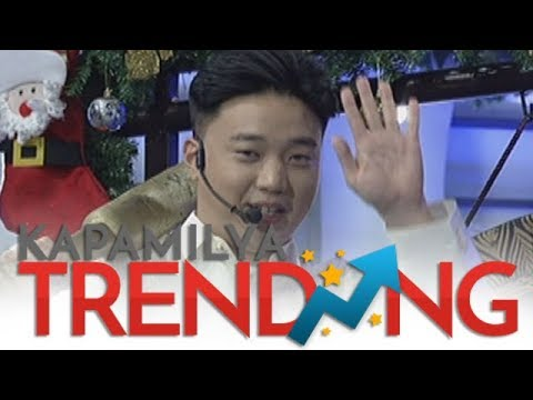 Ryan Bang greets Vic Sotto on air!