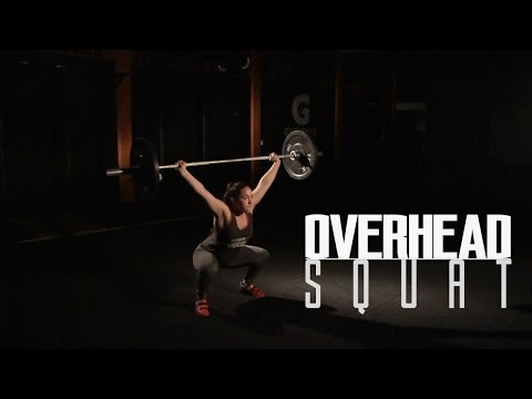 Técnica Overhead Squat (OHS) - CrossFit - en español