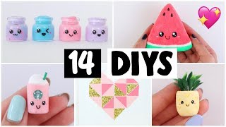 MAKING 14 AMAZING DIY Slimes, Squishies, Room Decor & MORE - COMPILATION!