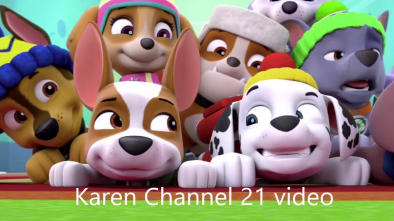 Paw Patrol Marshall and Everest and rocky and tracker Tribute for skye the  cutest