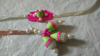 DIY Lumba Rakhi With Paper Quilling For Raksha Bandhan | Craftlas