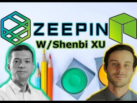 NEO News   Zeepin Distributed Creative Economy   Interview With Shenbi Xu   Hot NEO ICO