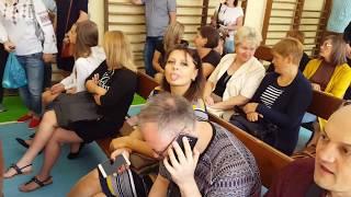 1е сентября в Польше - братик Артем