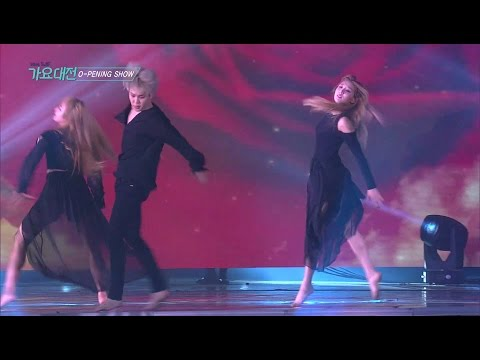 《LIVE VER.》 SAF SBS GAYO DAEJUN Classical Intro + Modern Dance Team (Opening Show)