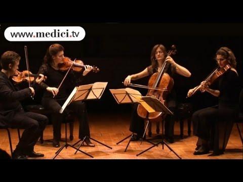 Tetzlaff Quartet - Beethoven - String quartet No. 15 in A minor - Movement III