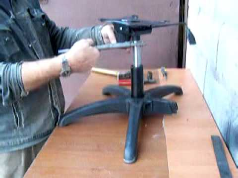 Ремонт стула компьютерного своими руками