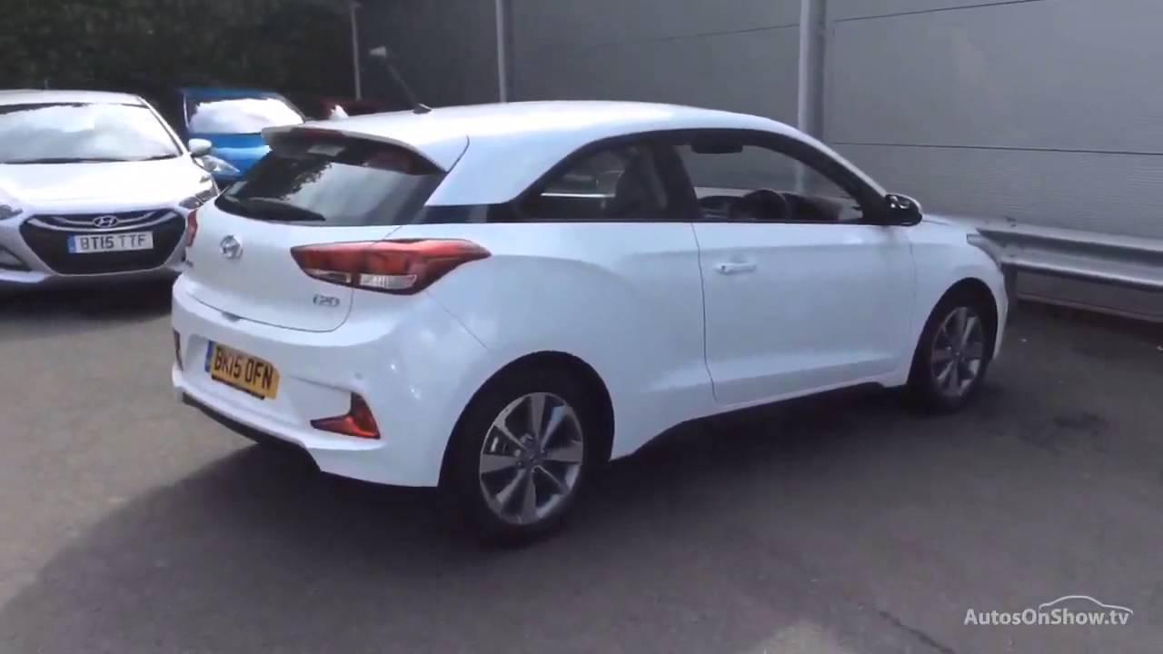 Hyundai I20 Mpi Se White 2015 Youtube