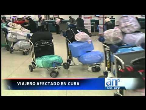 Agencias de viajes a Cuba limitan equipaje de sus pasajeros- América TeVé