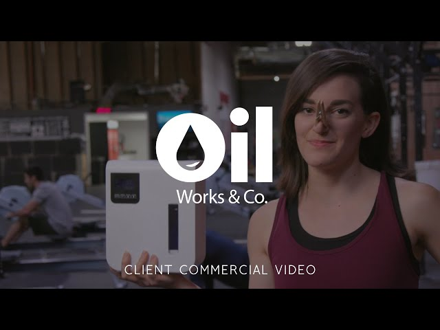 Oil Works & Company Diffuser Commercial Video - Made by Envy Creative