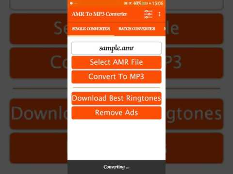 AMR to MP3 Converter - Apps on Google Play