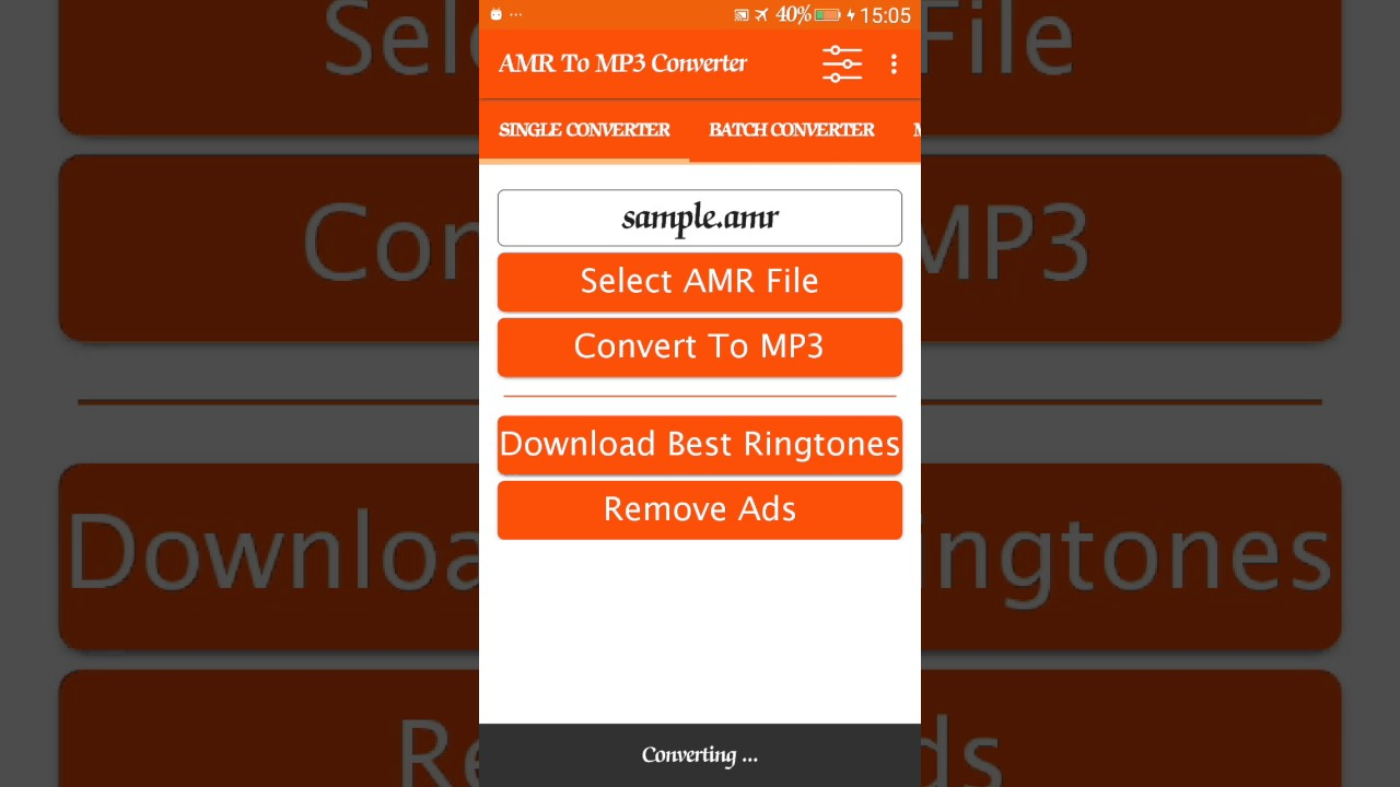 best amr audio player for android