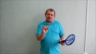 Электромухобойка. Мухобойка электрическая ракетка (Видео обзор)
