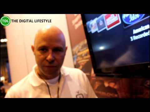 Simple.TV HDTV streaming and DVR demo at The Gadget Show Live 2014