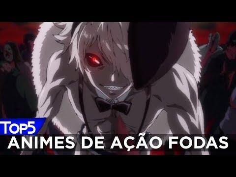 TOP 5 Animes De Ação Fodas @Team Aogiri