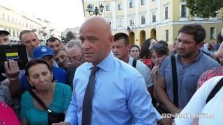 Мэр Одессы Труханов не хочет признать, что Россия - враг и агрессор