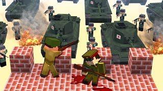 Вторая Мировая Война [ЧАСТЬ 2] Call of duty в Майнкрафт! - (Minecraft - Сериал)