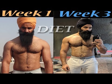 Week 3 -Six Pack Abs Transformation || Diet for Fat loss