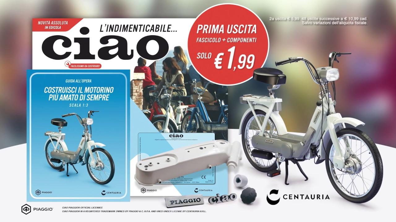 Ciao L Indimenticabile Ciclomotore Italiano è In Edicola Youtube