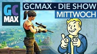 Gamescom 2018 - Fallout 76, Die Siedler, Fortnite und Mario-Kart-64-Turnier - #GCMAX