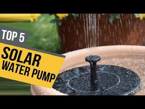 5 Best Solar Water Pump 2019 Reviews