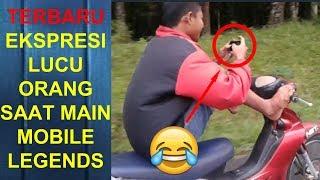Ekspresi Lucu Orang Main Mobile Legends Part 3 | Marah Marah, Bicara Kasar, Banting HP