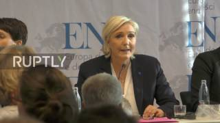 Germany  'Hollande was totally non existent in this Ukrainian conflict'   Le Pen says