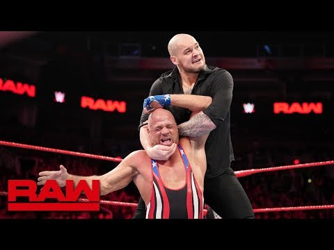 Kurt Angle vs. Baron Corbin: Raw, Jan. 28, 2019