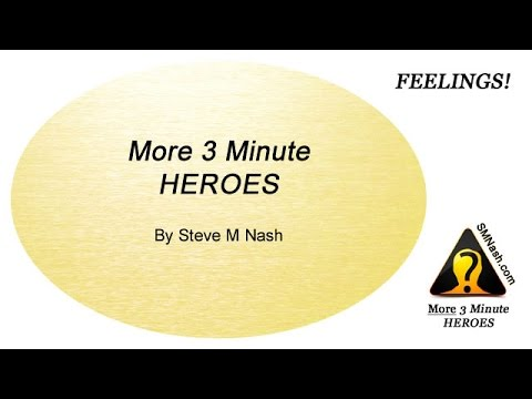 More 3 Minute Heroes Introduction - Thoughts About Feelings
