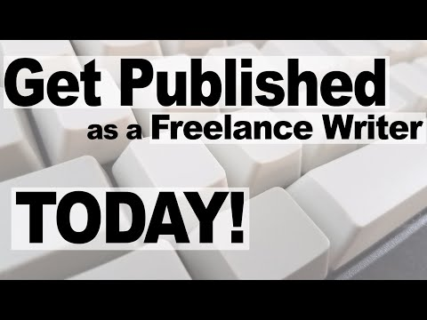 How to be a freelance writer - From first contact to Published article
