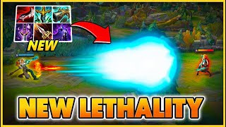 ALL 6 LETHALITY ITEMS IN SEASON 11 (HILARIOUS DAMAGE) - BunnyFuFuu | League of Legends